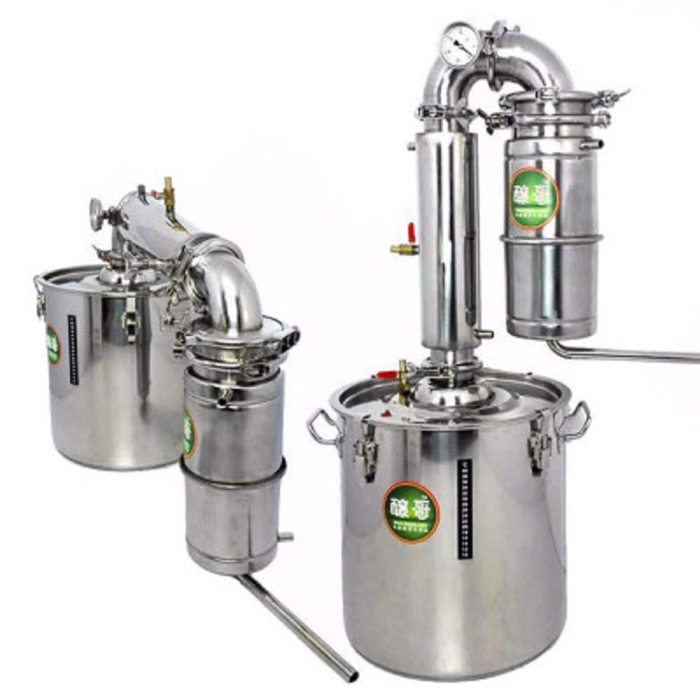 YUEWO 70L Large Capacity Stainless Alcohol Distiller Liquor Wine Brewing Device Spirits(Alcohol) Distillation Vodka Maker Whisky