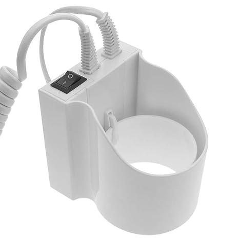 PrimeMatik - Secador de pelo con soporte de pared. Secapelos de hotel de 1300W: Amazon.es: Electrónica