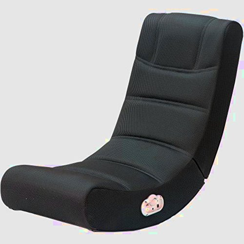 Gamer Chair Rocker for PC, Best Black Pro Recliner One Computer Rocking Lounge Cheap Top Chair for Adults, Teens and Kids with Speakers & E-Book