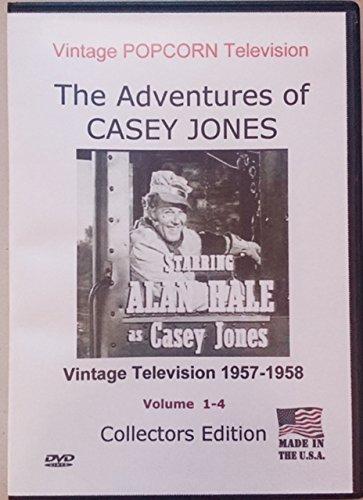 Casey Jones-Classic Television-1957-1958-Collectors Edition TV Series 32 Episodes-4 DVD's