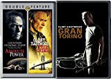 Clint Eastwood 3 Film Favorites Absolute Power & True Crime + Gran Torino Feature movie series set