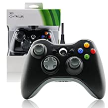 Wired Xbox 360 PC USB Joypad Game Controller for MICROSOFT (Non Official) Windows-Black by Mario Retro