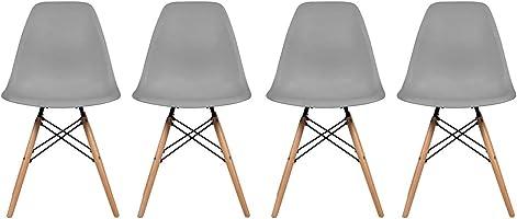 GAIA Set de 4 sillas Replica Eames