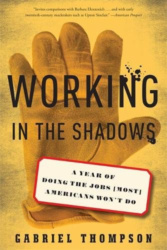 Download Working in the Shadows: A Year of Doing the Jobs (Most) Americans Won't Do pdf
