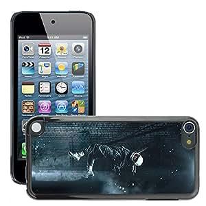 Super Stellar Slim PC Hard Case Cover Skin Armor Shell Protection // M00047914 aero in levitation cosmonaut // Apple iPod Touch 5 5G 5th