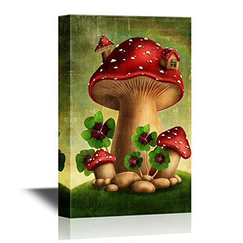 Mushroom and Lucky Clover in Fairyland