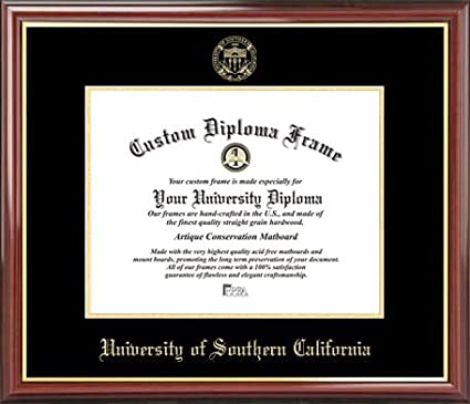 Amazon.com : University of Southern California Trojans - Embossed ...