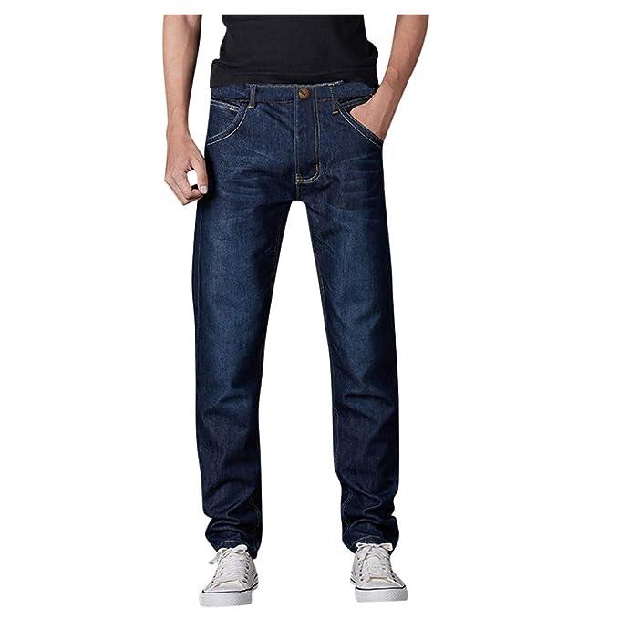 Zarupeng Pantalones De Mezclilla para Hombres Pantalones Vaqueros ...