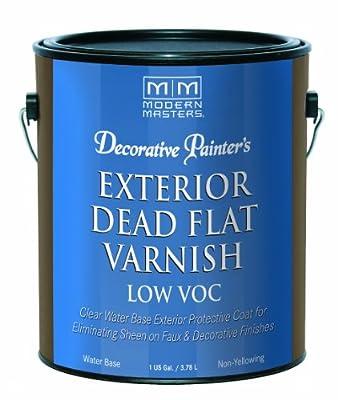 Modern Masters DP401 Exterior Dead Flat Varnish Low VOC Gallon
