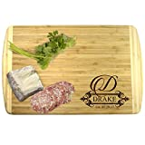 This beautiful custom engraved bamboo cutting board is the perfect gift for almost any occasion! Whether this is a gift for a wedding, housewarming or holiday this personalized cutting board is sure to be cherished for years to come! Many sty...