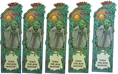 Bookmark Lot of 5 Yoda 1983 Vintage Star Wars Random House