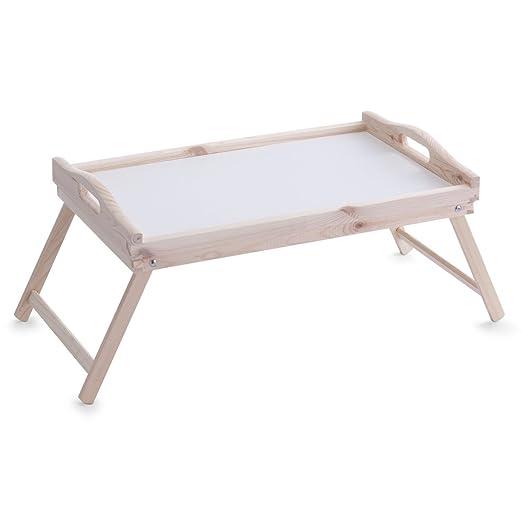196 opinioni per Zeller 24038 Vassoio da letto in pino, 51 x 32 x 25 cm