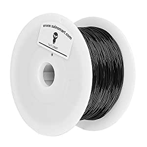 SainSmart 1.75mm Flexible TPU 3D Printers Filament - 800g Spool (Black)