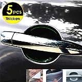 Invisible Handle Protection Sticker Car Door Handle Protector Handle Scratches Films (5PCS)