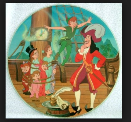 Walt Disney's Story and Songs from Peter Pan (USA picture disc album)