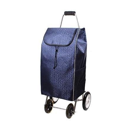 51e3faabe9f0 Shopping Cart Trolley Shopping Bag Storage Bag Luggage Cart Portable ...
