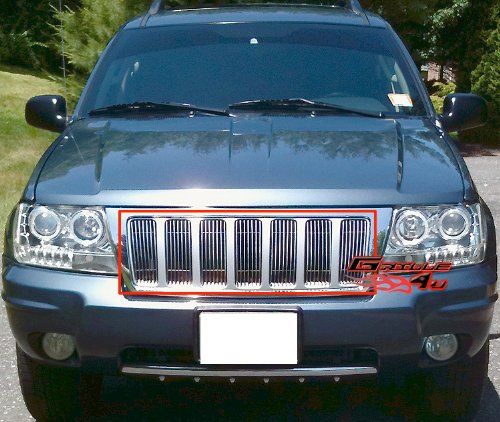 99-04 Jeep Grand Cherokee Vertical Billet Grille Grill Insert Jeep Billet Grill