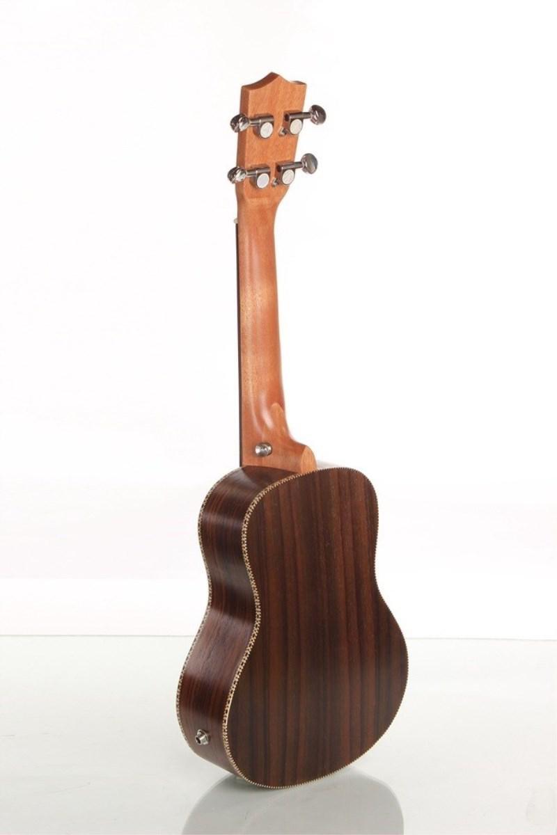 XIE@Palo de rosa de 23 pulgadas caja de la guitarra eléctrica guitarra pequeña ukelele ukelele color de la madera: Amazon.es: Instrumentos musicales