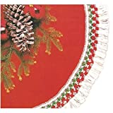 Rubie's Costume Co 56'' Red Plush Tree Skirt Costume