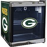 Glaros Officially Licensed NFL Beverage Center / Refrigerator - Green Bay Packers