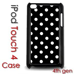 IPod Touch 4 4th gen Touch Plastic Case - Polka Dots