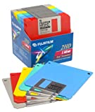 Fujifilm 3.5 Floppy Disk 2HD Mac Formatted (25-Pack, Assorted Colors) (Discontinued by Manufacturer)