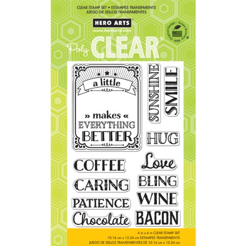 Hero Arts A Little Clear Stamp - Clear Set Stamp Frames
