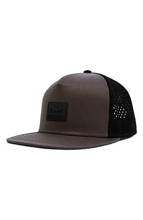 bb28e12ce1486 Men s Melin Nomad Split Fit Snapback Baseball Cap ‑(Black) at Amazon ...