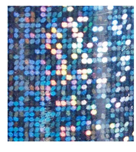 Foil Gift Wrap Paper 7-1/2 Inches Wide X 150 Feet Long Holographic City Lights