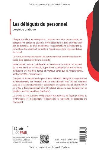 Amazon Fr Les Delegues Du Personnel Le Guide Pratique Xavier