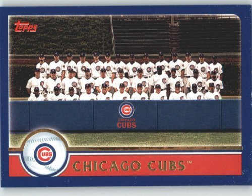2003 Topps Baseball Card #635 Chicago Cubs 2003 Topps Baseball Card