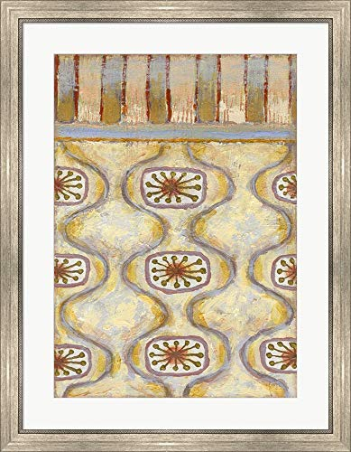 Sterling Copper 12 by Rachel Paxton Framed Art Print Wall Picture, Silver Scoop Frame, 28 x 35 inches