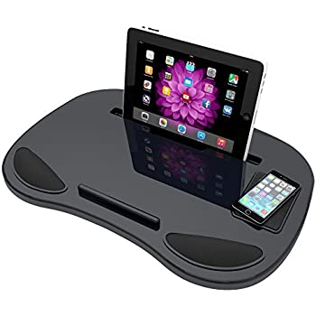 Lap Desk Laptop Tray   Lapdesk Tablet Pillow Board For Adults Kids Students Teens For Work Gaming Reading or Fun On Computer iPad For Home or Travel by RelaxTime Desk