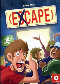 Giochi Uniti Excape - Juego de Mesa (versión en Italiano) [Importado de Italia]: Amazon.es: Juguetes y juegos