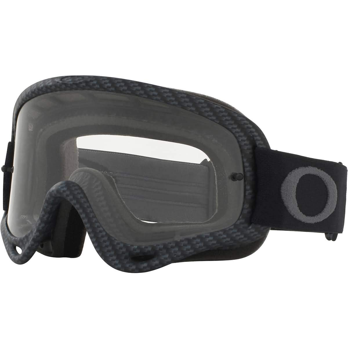 Oakley O Frame MX Adult Off-Road Motorcycle Goggles - Matte Carbon Fiber/Clear by Oakley
