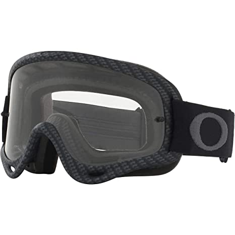 32702bb850 Amazon.com  Oakley O Frame MX Adult Off-Road Motorcycle Goggles - Matte  Carbon Fiber Clear  Automotive