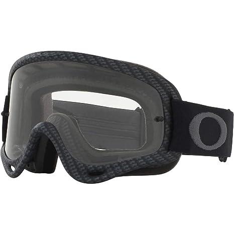 2afa89c82ee Amazon.com  Oakley O Frame MX Adult Off-Road Motorcycle Goggles - Matte  Carbon Fiber Clear  Automotive