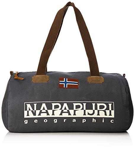 Napapijri Bering Small 1 - Sacs bandoulière adultes unisexe, Schwarz (noir), 26x26x50 Cm (bx H H T) Gris (Gris foncé Plein)