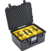 CVPKG Presents - Black Pelican 1557 with yellow padded dividers.