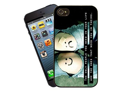 Zitate und inspirierende Worte 005 Telefon Etui - passen diese Abdeckung Apple Modell iPhone 5 / 5 s (nicht 5c) - von Eclipse-Geschenk-Ideen