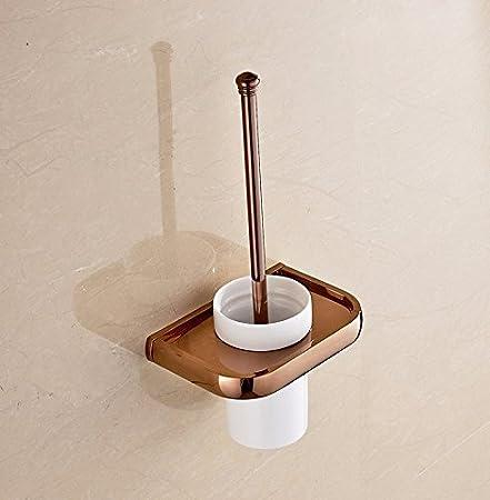 Facaig Europa Wc Burste Badezimmer Zubehor Set Kupfer Rose Gold