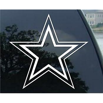 Amazon Dallas Cowboys Football Vinyl Car Decal Sticker 1747