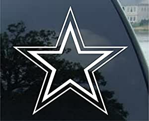 amazoncom dallas cowboys football vinyl car decal With kitchen colors with white cabinets with dallas cowboys stickers decals