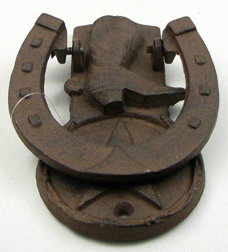 Cast Iron Western Boot Door