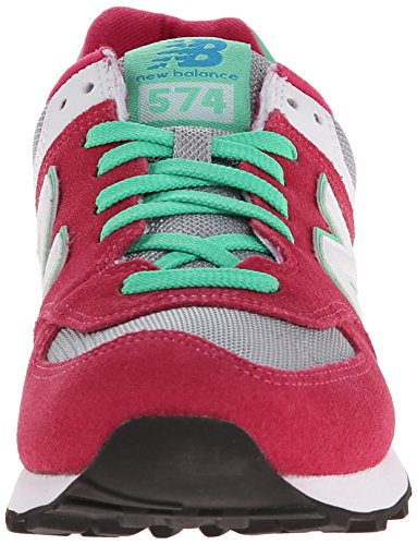 New Balance 574 Damen Sneakers Pink (CPV PINK/GREEN)