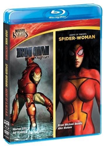 Marvel-Knights-Iron-Man-Spider-Woman-Blu-ray