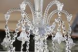 """New"" BACCARAT 20 Light Chandelier/Sconce Diamant"