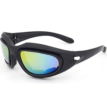 Gafas De Ciclismo UV400 Lente De PC Luz Polarizada Visión Nocturna Anti-Reflejo Reduce La