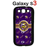 NFL Minnesota Vikings Case for Samsung Galaxy S3 Case Hard Silicone Case