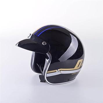 Viper Helmets Casco de moto Rsv06, azul moderna